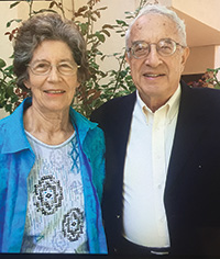 Photo of Evelyn Salinger and Her Husband Gerhard. Link to their story